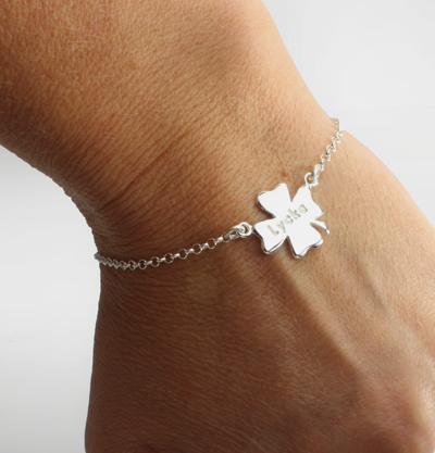 Petit bracelet clover