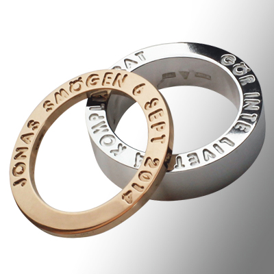 Name Ring Engraving