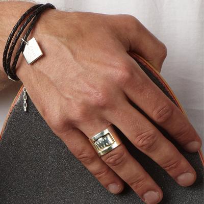 men's bracelet Square