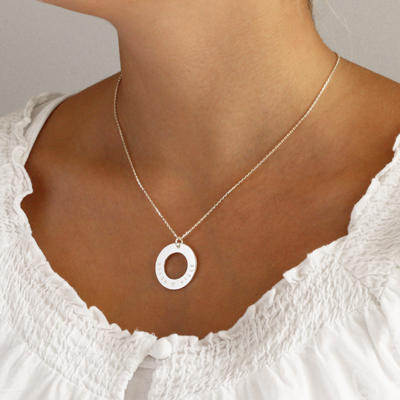 engraving jewelry circle