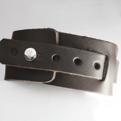 Läderarmband My hero (djupgravyr)