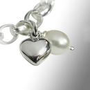 freshwater pearl/heart