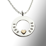 Necklace my heart mini