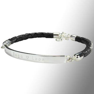 Endless bracelet leather