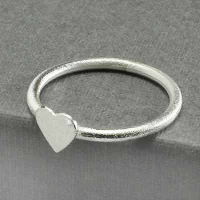 Ring frozen heart